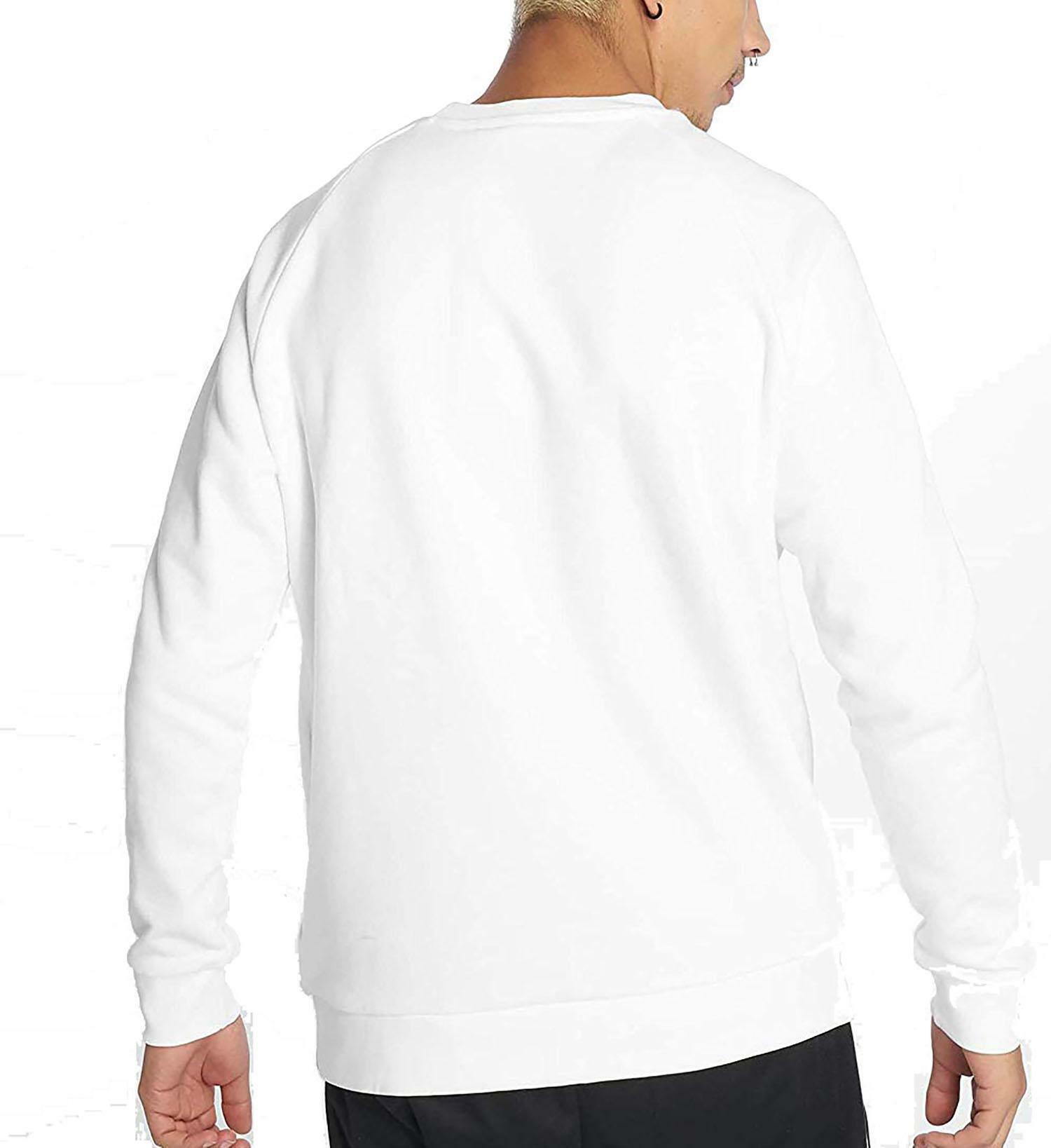 felpa uomo bianca adidas