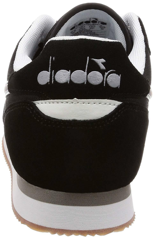 Diadora simple run scarpe sportive uomo nere 17374580013