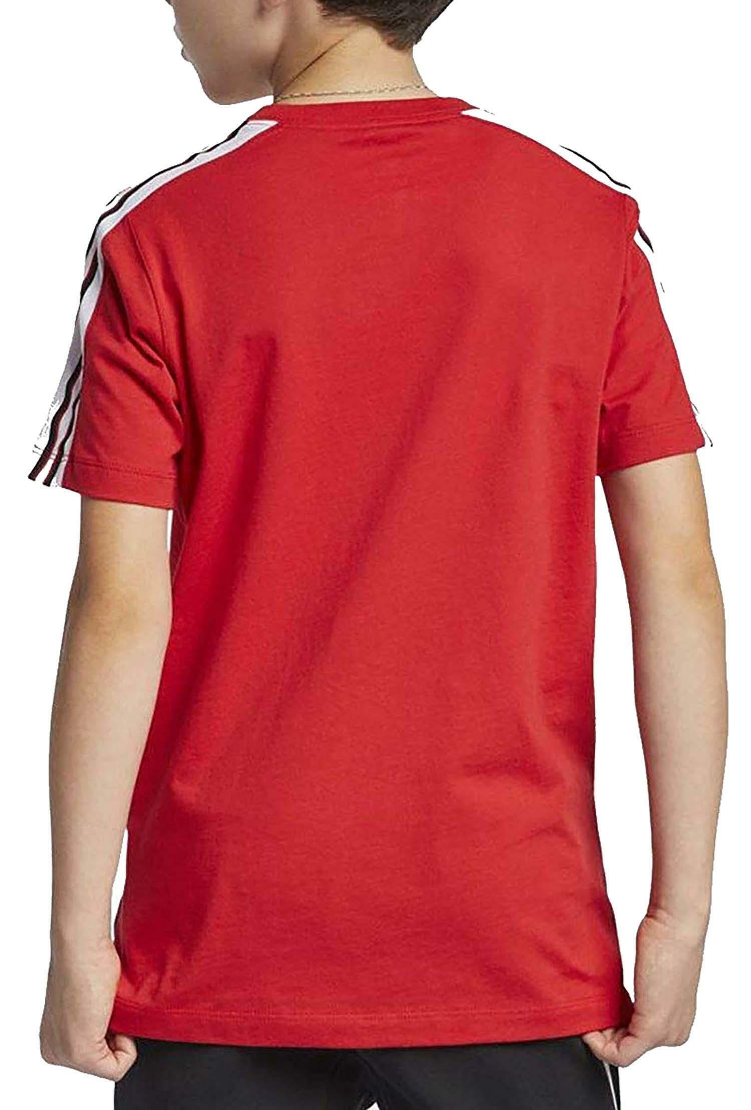 nike t-shirt bambino rossa ar5280