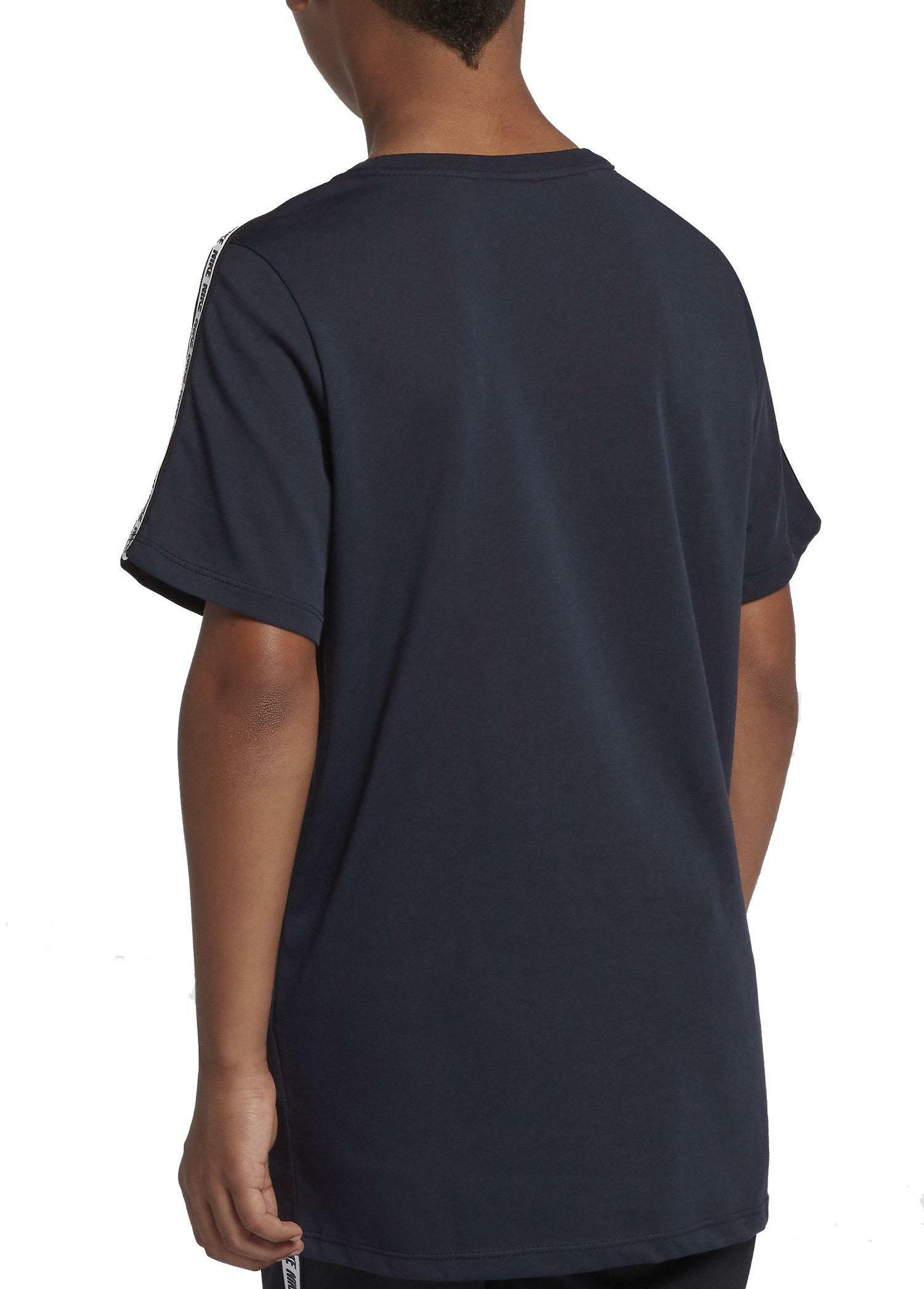 nike t-shirt bambino blu av8390451
