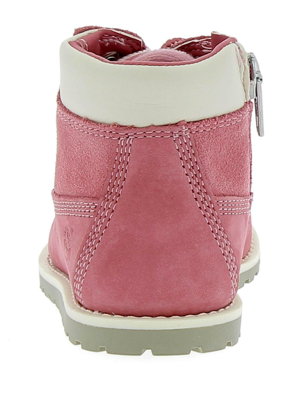 timberland timberland pokey plne 6in boot scarponcini bambina rosa