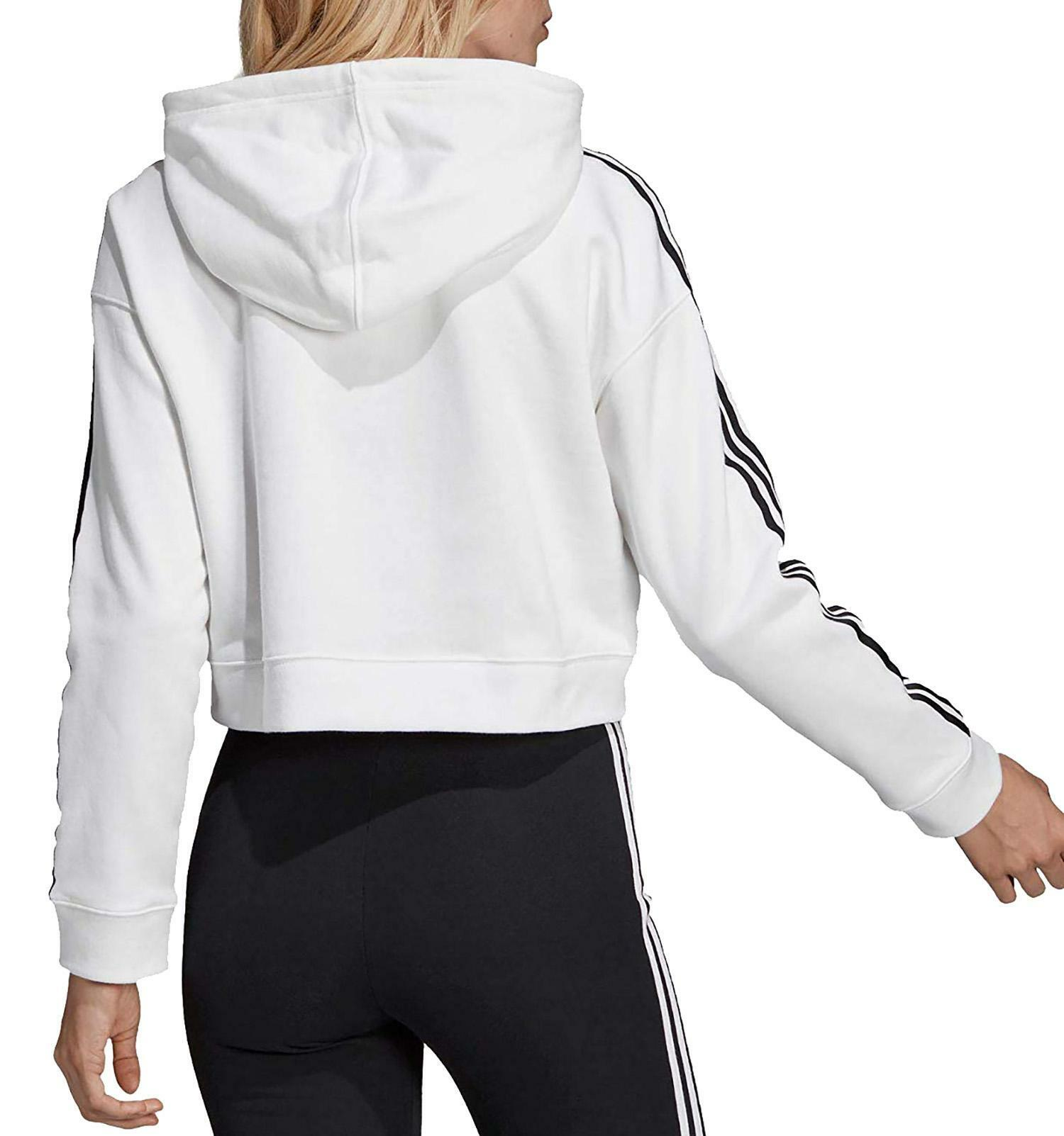 donna cropped hoodie adidas