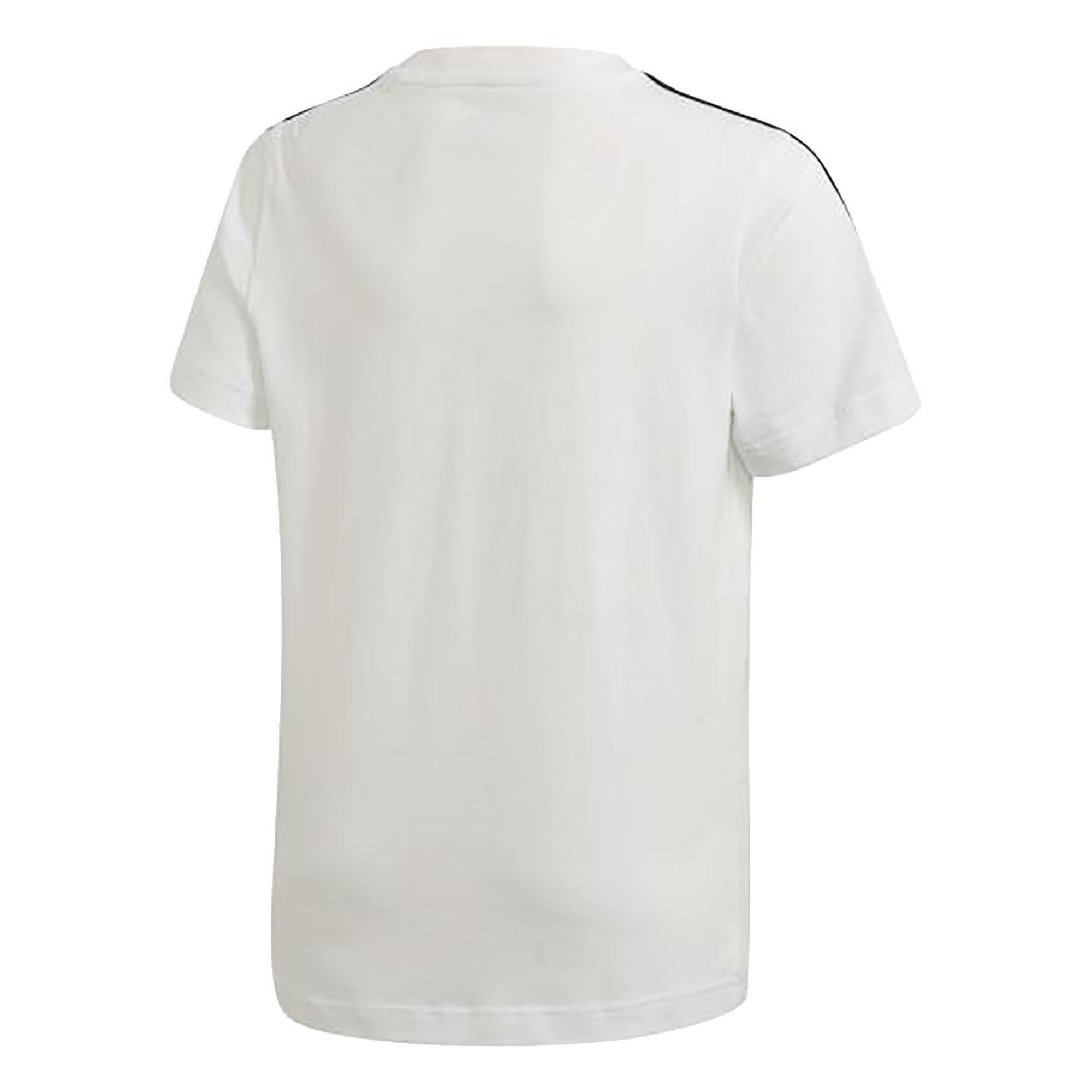 adidas t-shirt bambino bianca dv1800