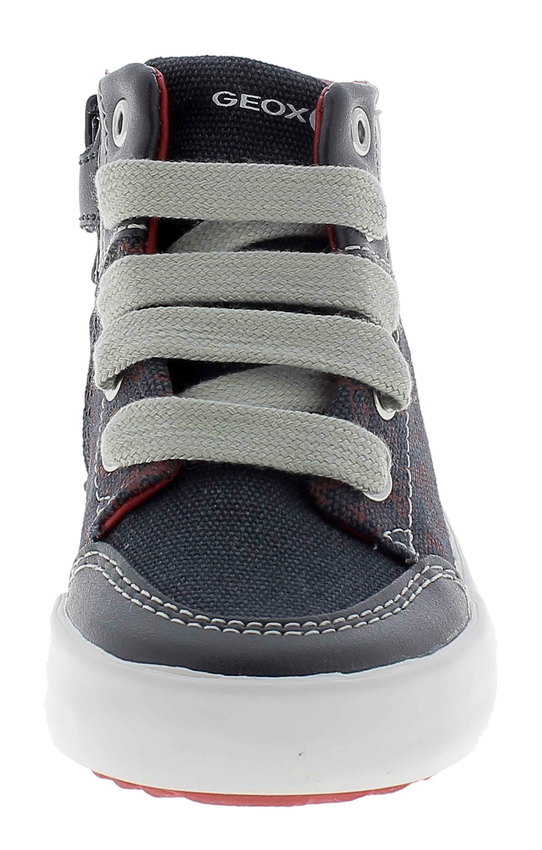 geox b gisli scarpe sportive bambino blu b841nac4244