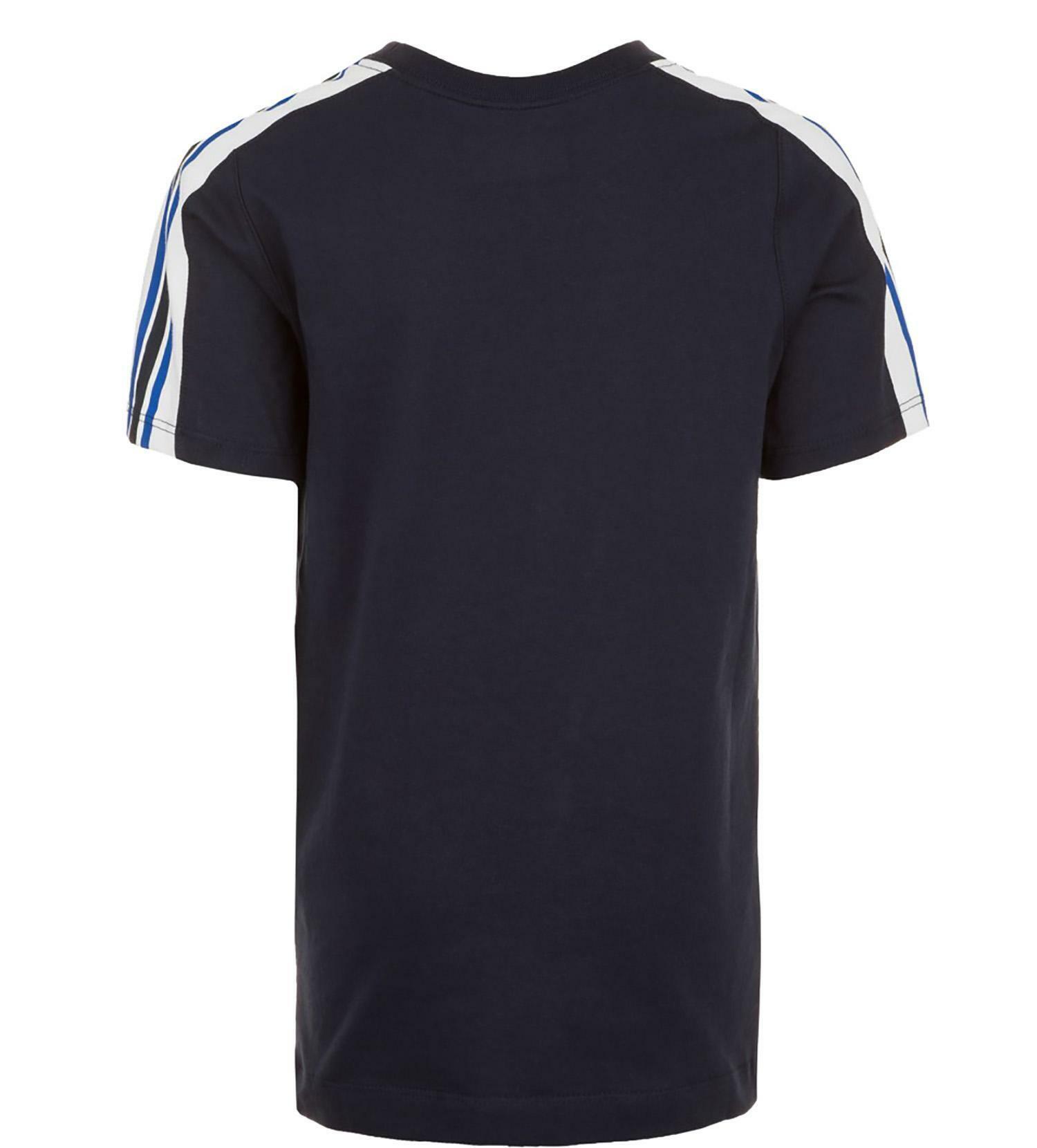 nike t-shirt bambino blu ar5280451