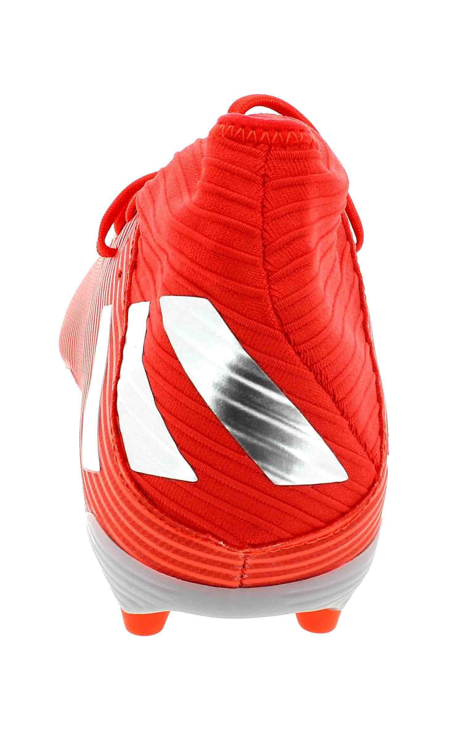 adidas nemeziz 19.3 fg scarpe calcio uomo rossi f34389