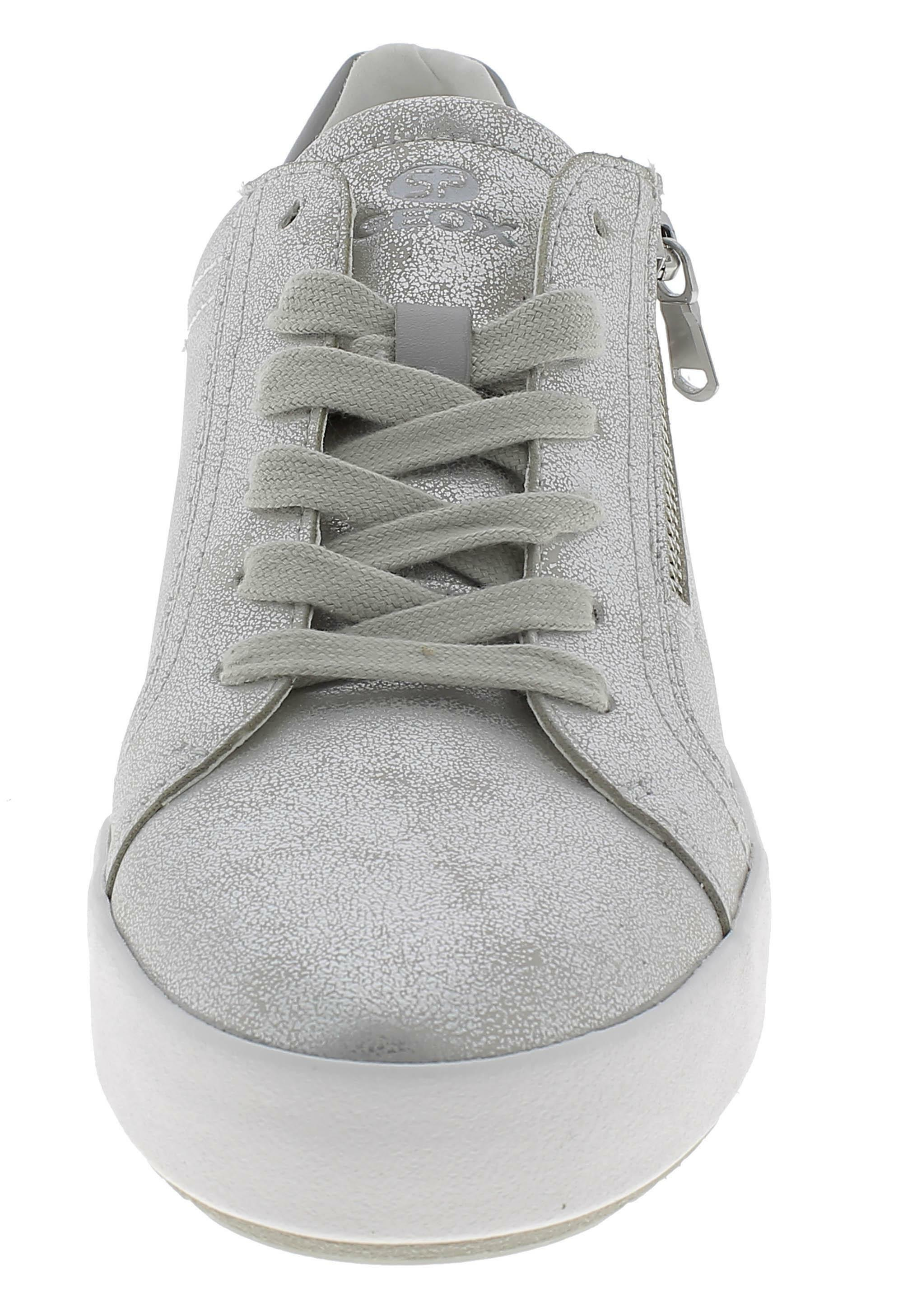 geox d blomiee c scarpe sportive donna argento d926hcc0818