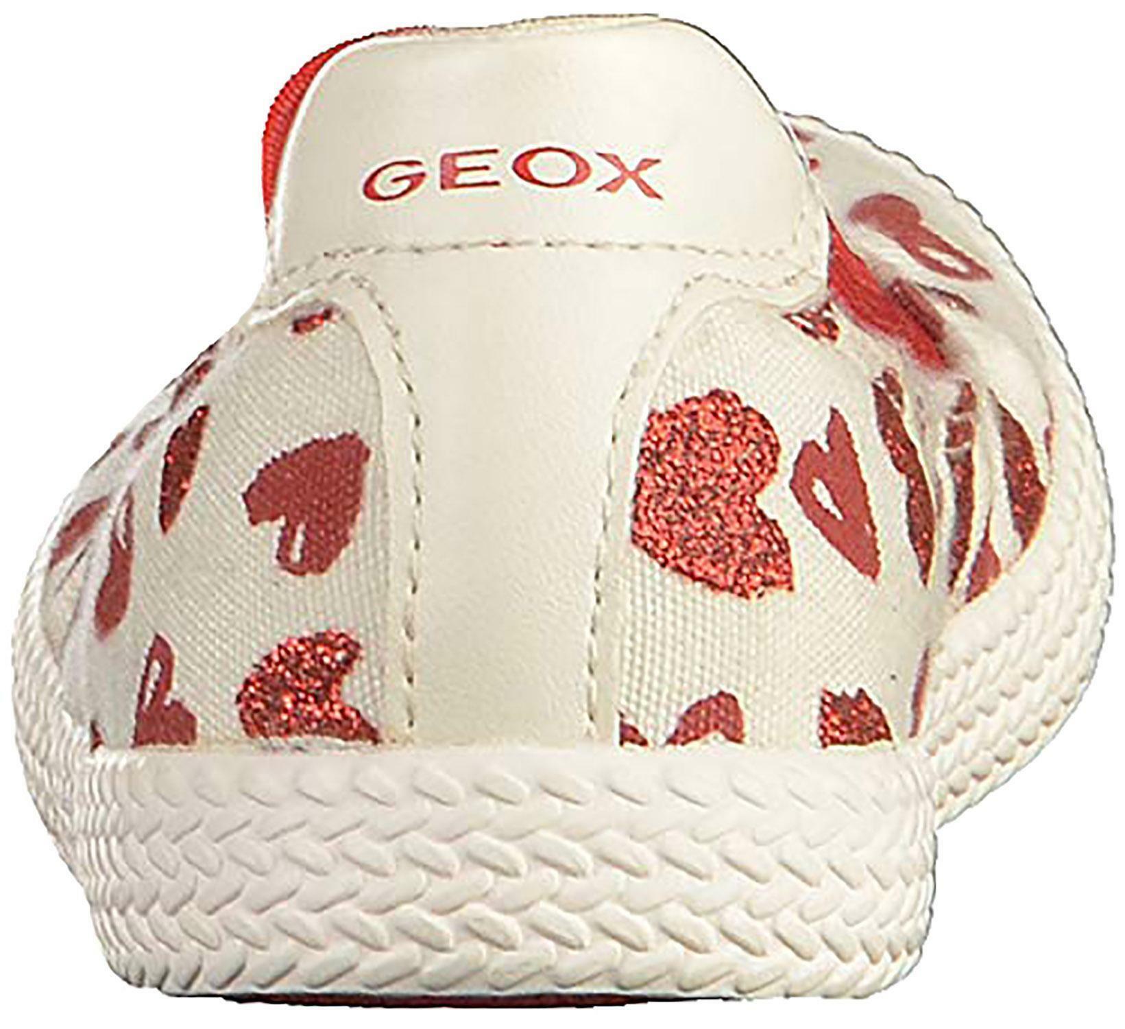 geox j kilwi g ballerine bambina bianche j92d5jc0050