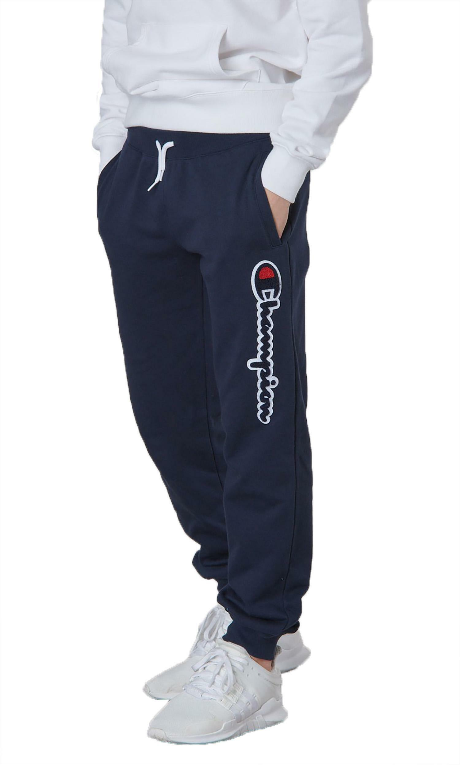 champion pantaloni tuta bambino blu 304973bs501