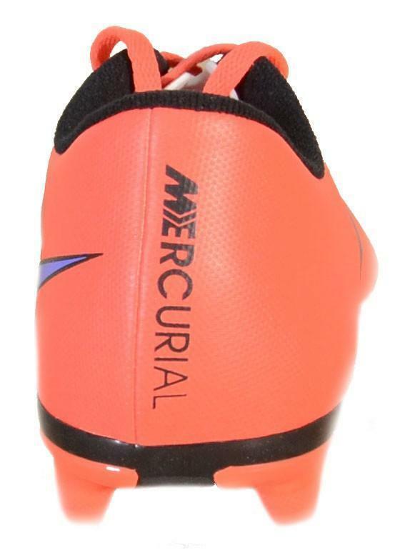 nike nike mercurial vortex ii fg scarpini calcio rossi pelle 651647