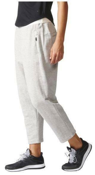 adidas adidas away day pantaloni donna grigi
