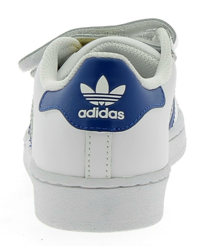 adidas adidas superstar foundation cf scarpe sportive pelle bianche