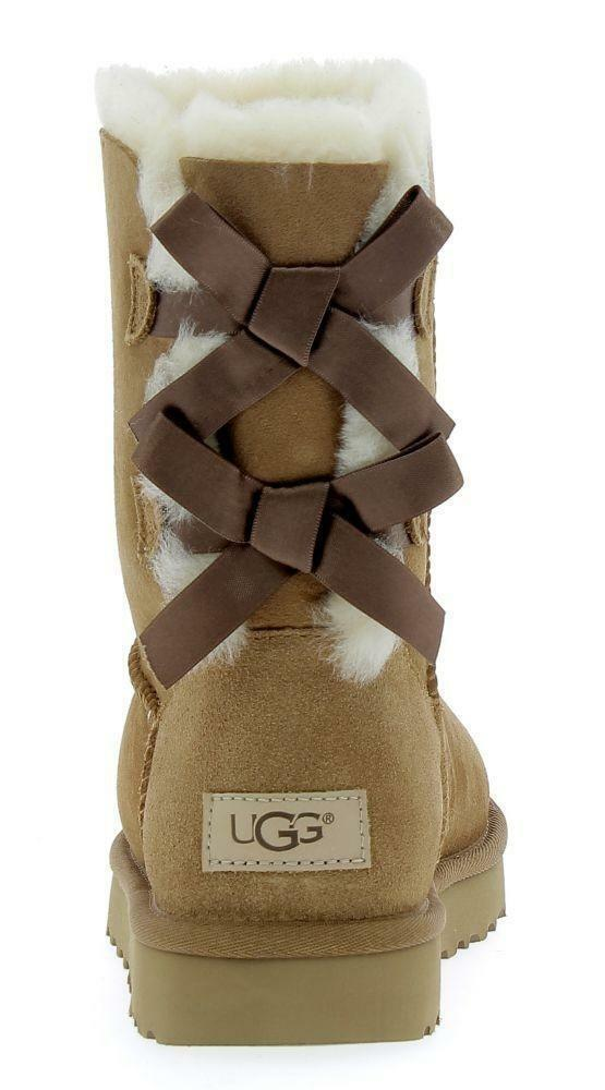 ugg ugg w bailey bow ii stivali donna marroni