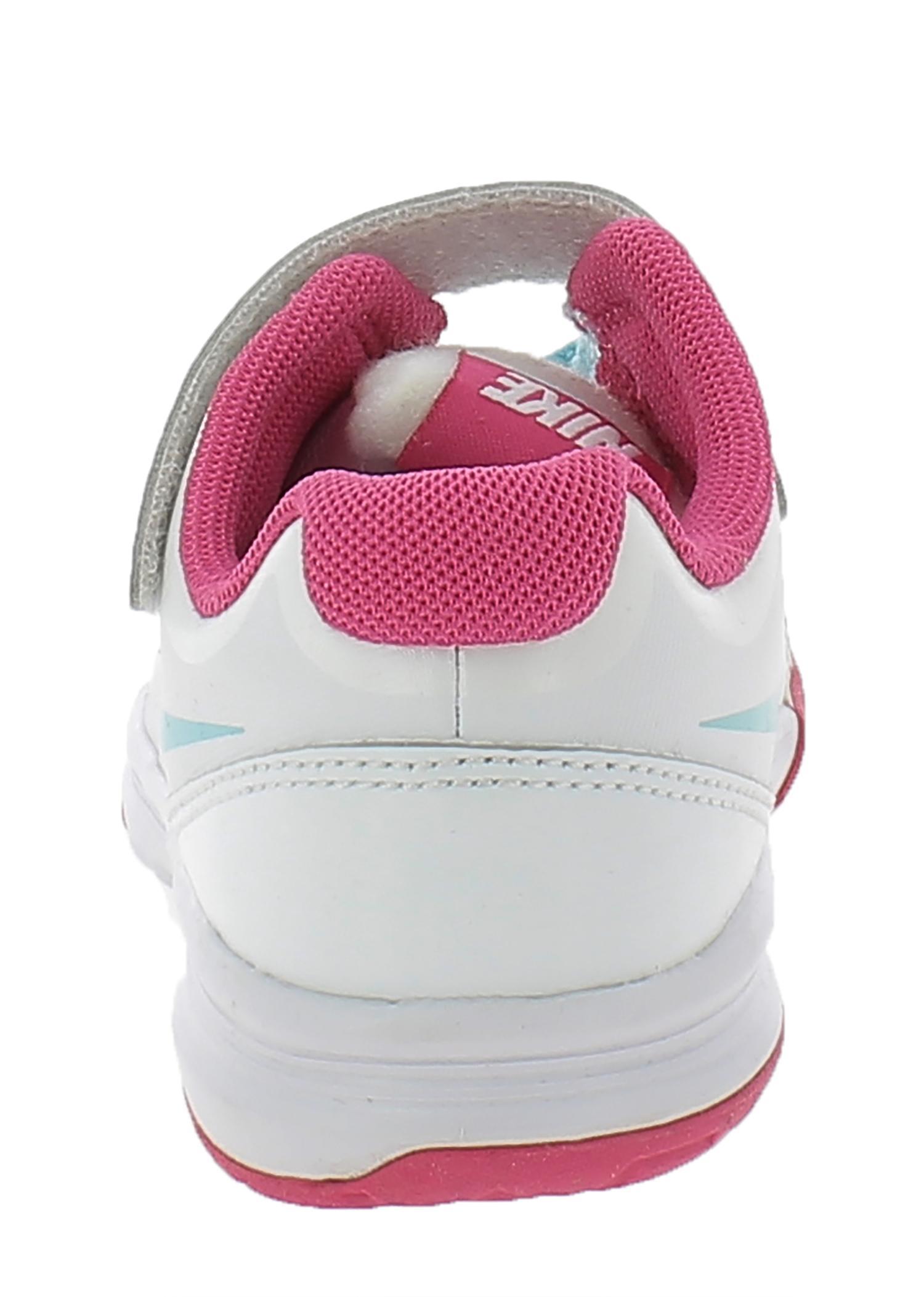 nike kallisto (psv) scarpe sportive bambina bianche pelle strappi 429761