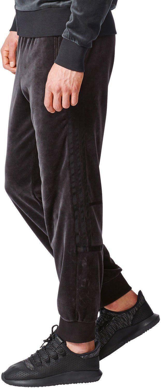 adidas challenger tp pantalone tuta uomo nero