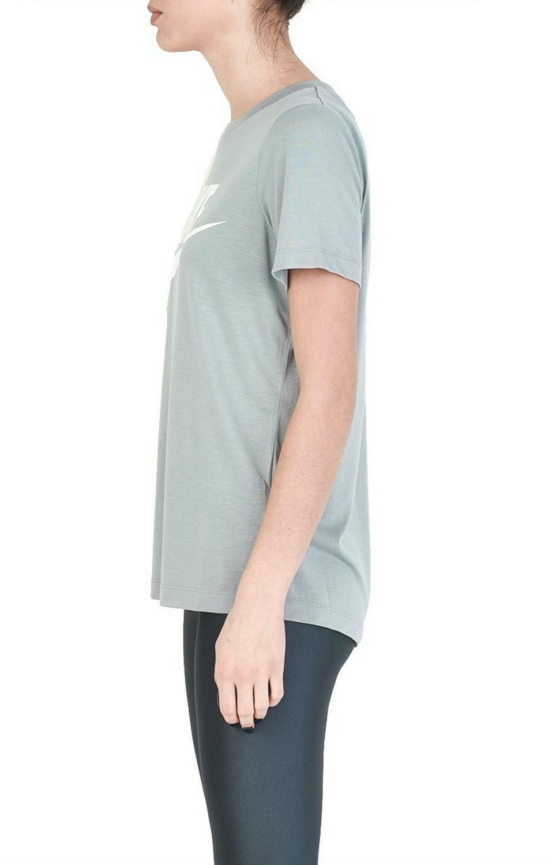 nike nike w nsw essential t-shirt donna grigia