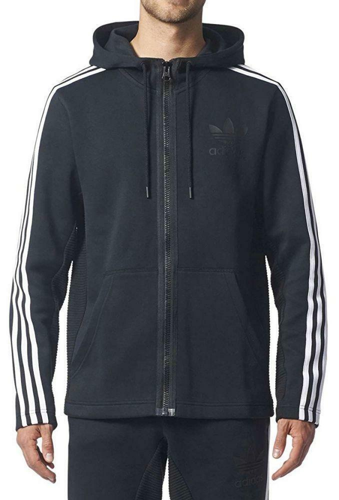 adidas curated fullzip giacchetto uomo nero