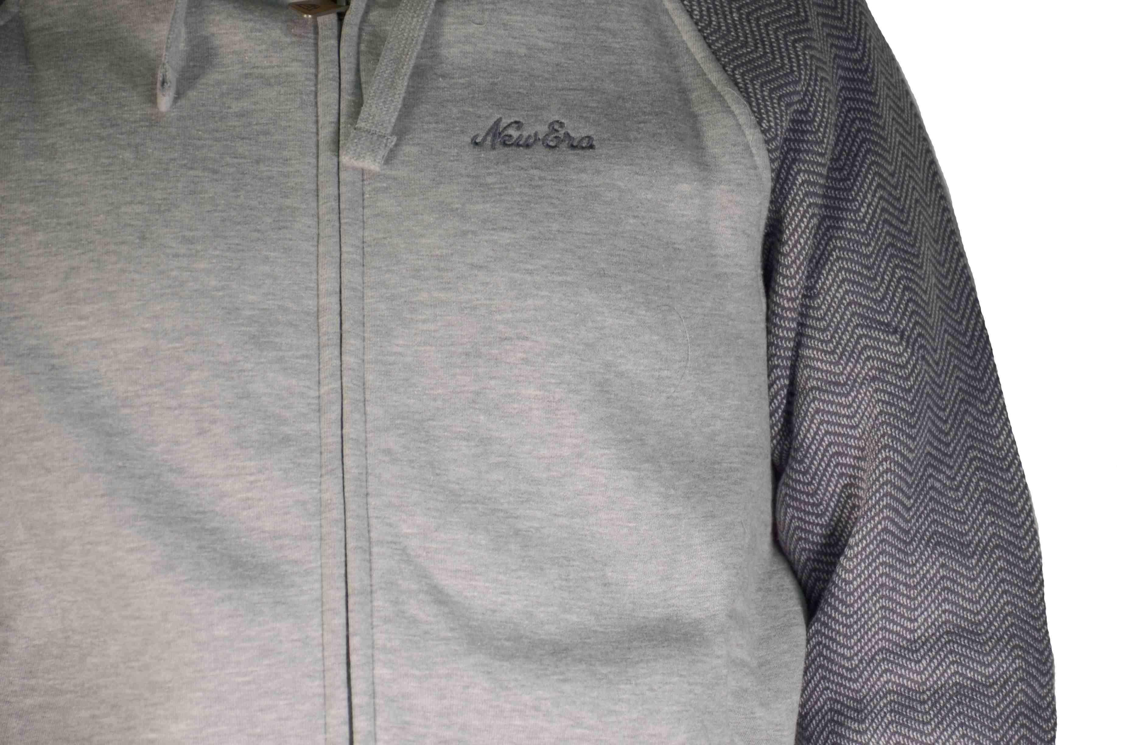 new era new era hp fz hoody giacchetto uomo grigio