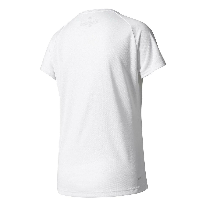 adidas adidas d2m tee lose t-shirt donna bianca