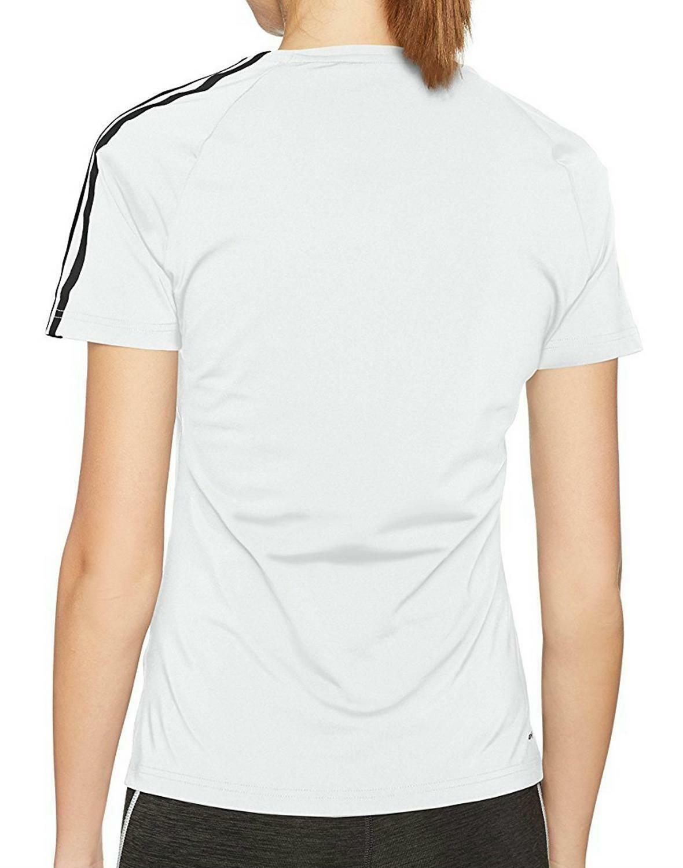 adidas adidas d2m 3s t-shirt donna bianca