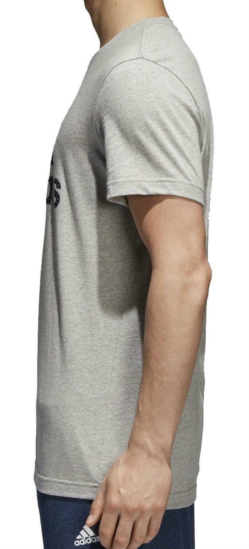 adidas adidas bos foil t-shirt uomo grigia cv4506