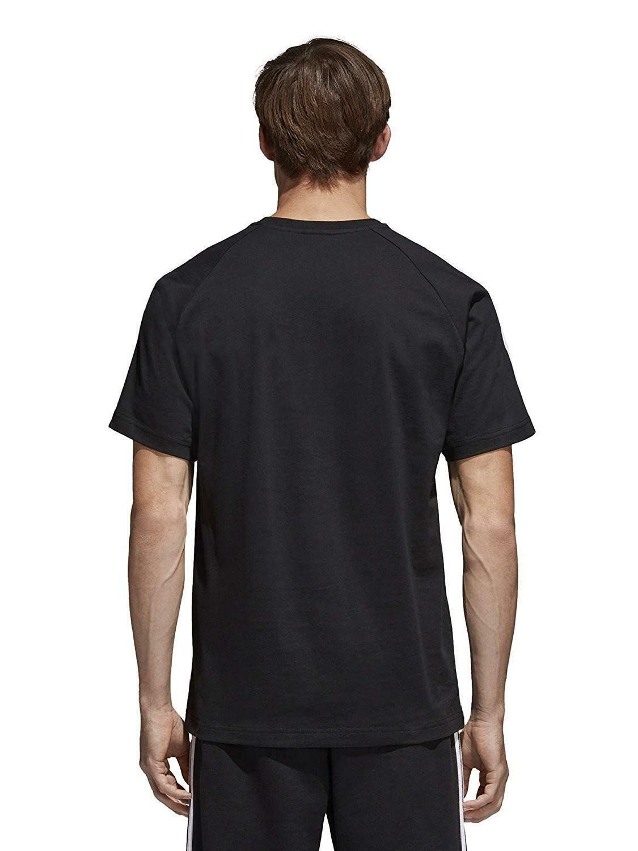 adidas adidas originals curated tee t-shirt uomo nera