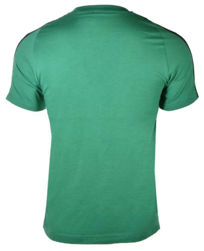 adidas adidas ess 3s tee t-shirt uomo verde ce1921