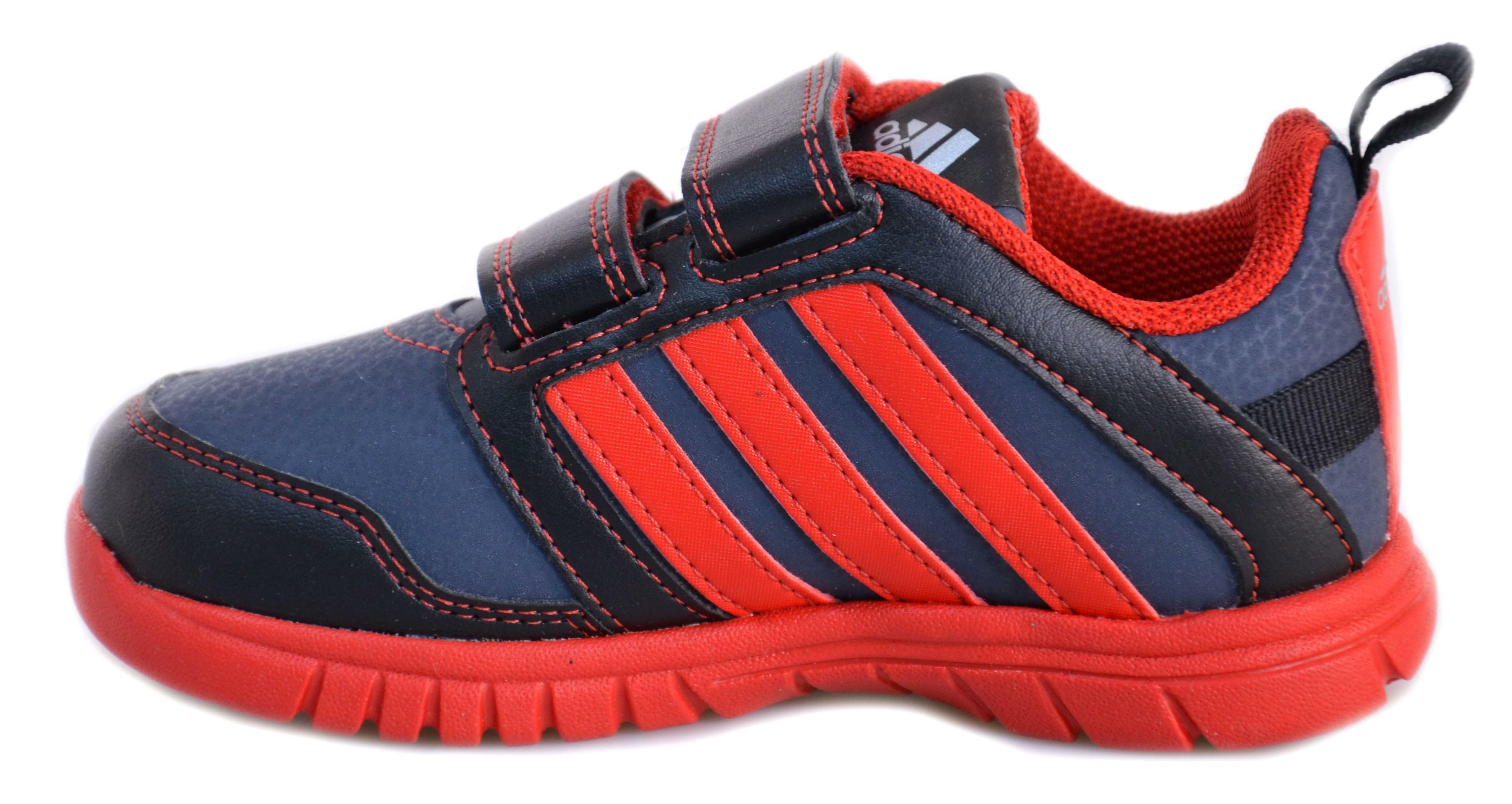 adidas adidas sta fluid 3 cf i scarpe bambino grigie pelle strappi m20253