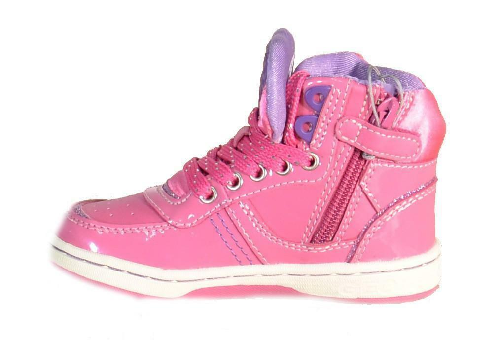 geox geox j maltin girl scarpe sportive bambina fuxia j4400b