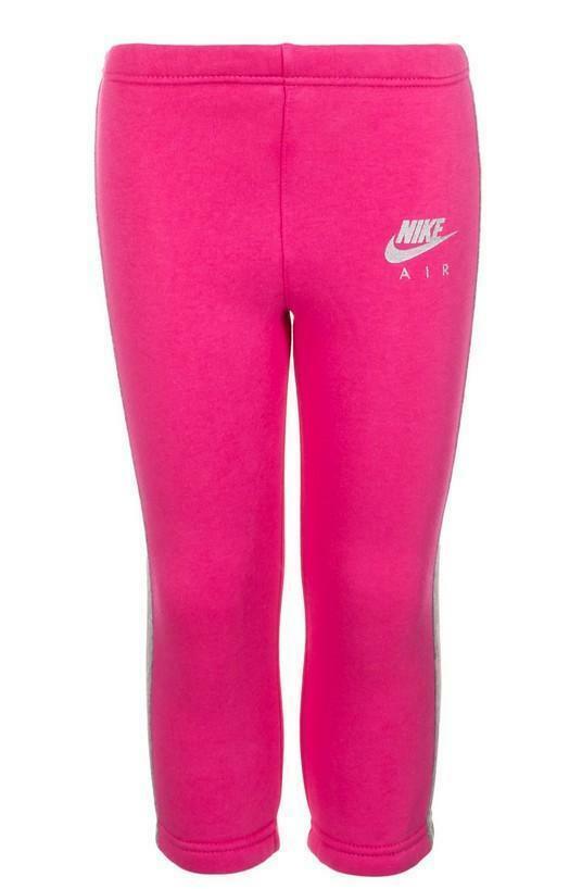 nike nike sportswear tuta bambina rosa 724282