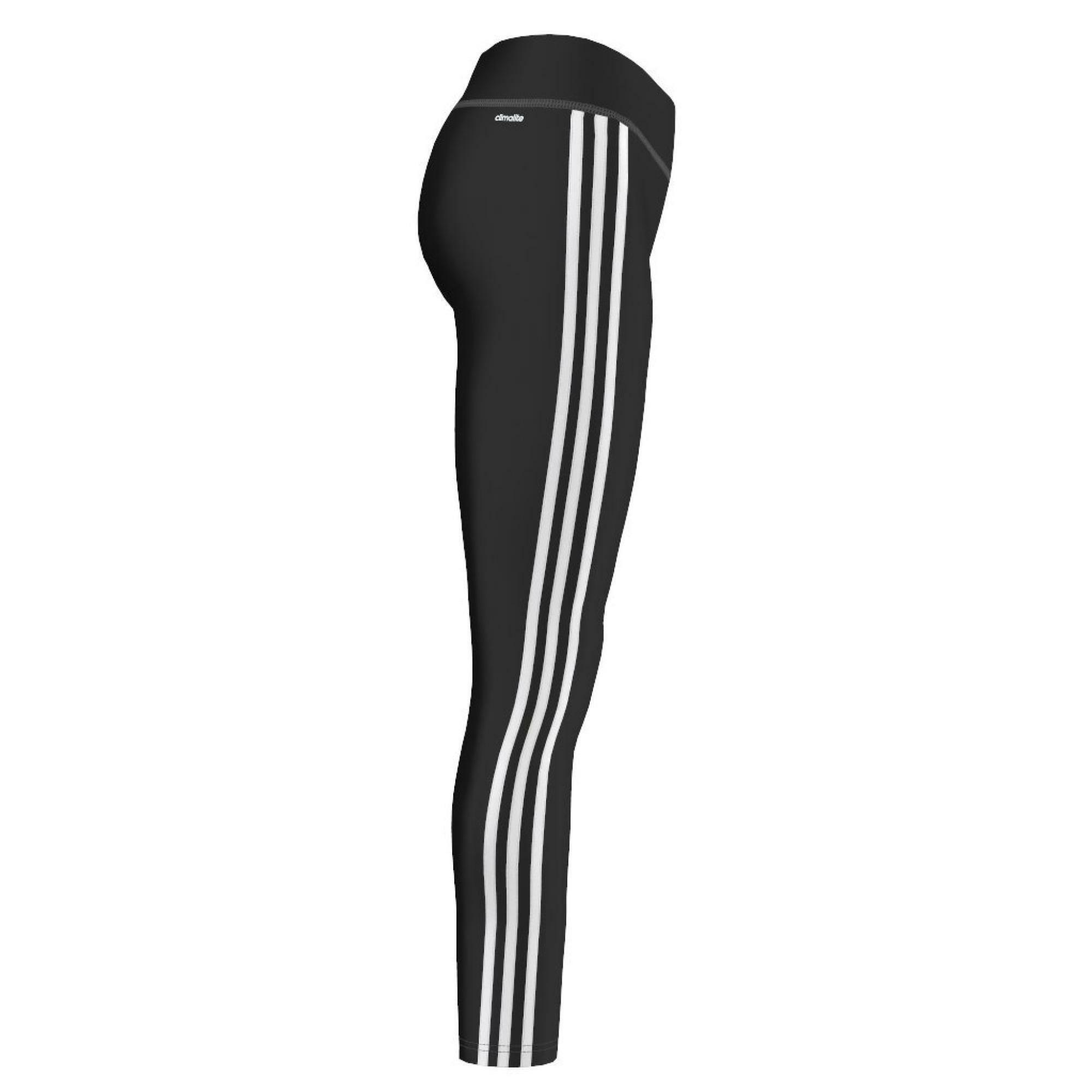 adidas ess 3s tight leggings donna neri stretch s21020