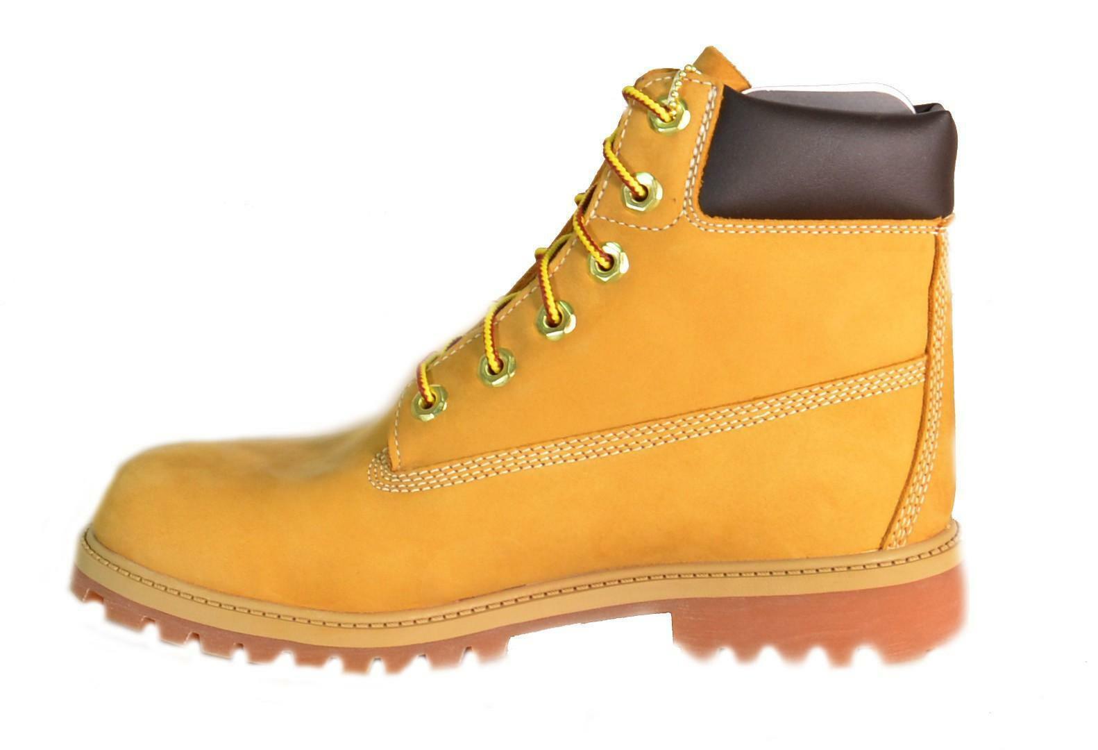 timberland timberland scarponcini scamosciati gialli pelle 12909