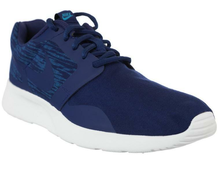 nike nike kaishi ns scarpe sportive uomo blu tela 747492