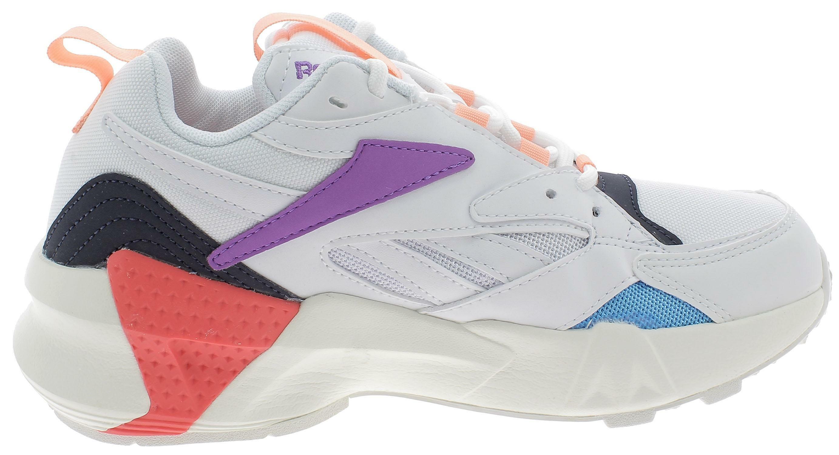 Reebok aztrek double mix pops scarpe sportive donna bianche