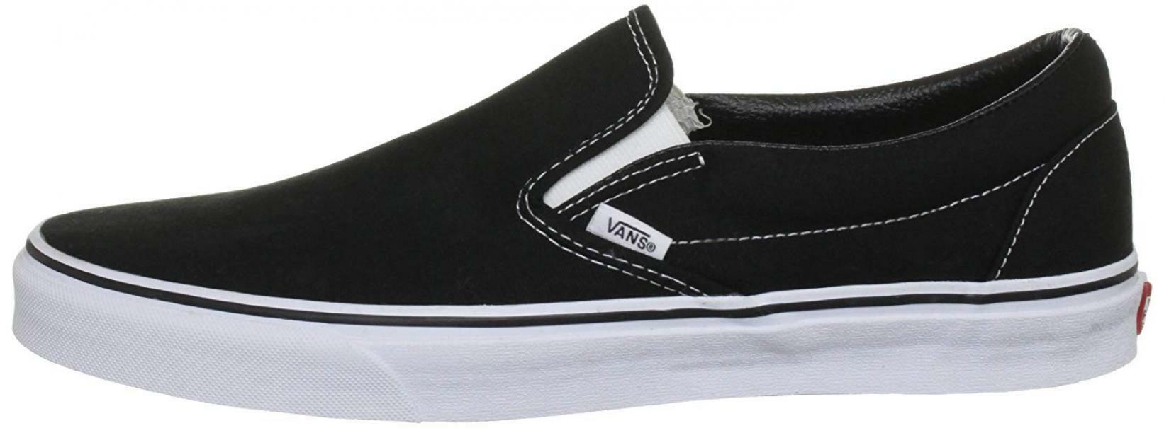 Vans classic slip on scarpe sportive uomo nere vn000eyeblk