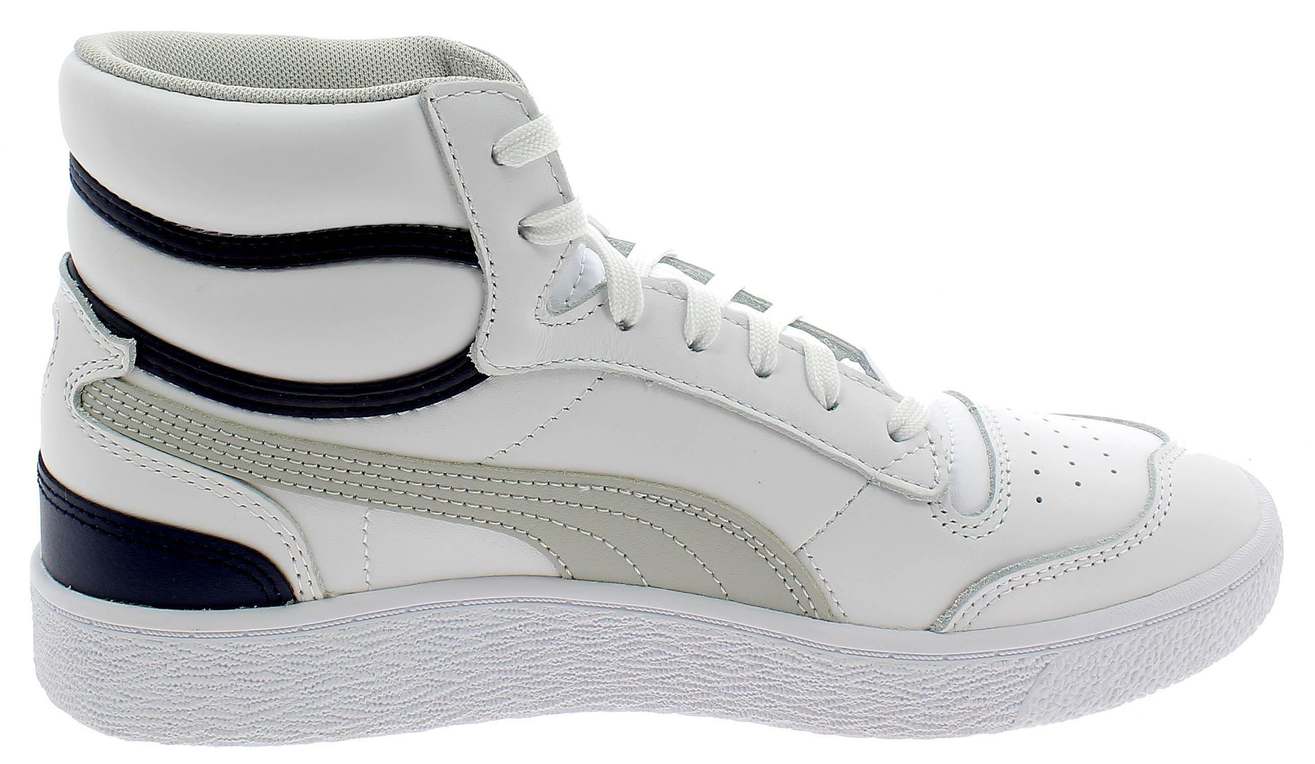 Puma ralph sampson mid scarpe sportive uomo bianche 37084704
