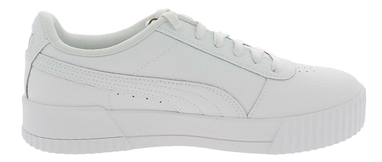 Puma carina lux scarpe sportive donna bianche 37028102