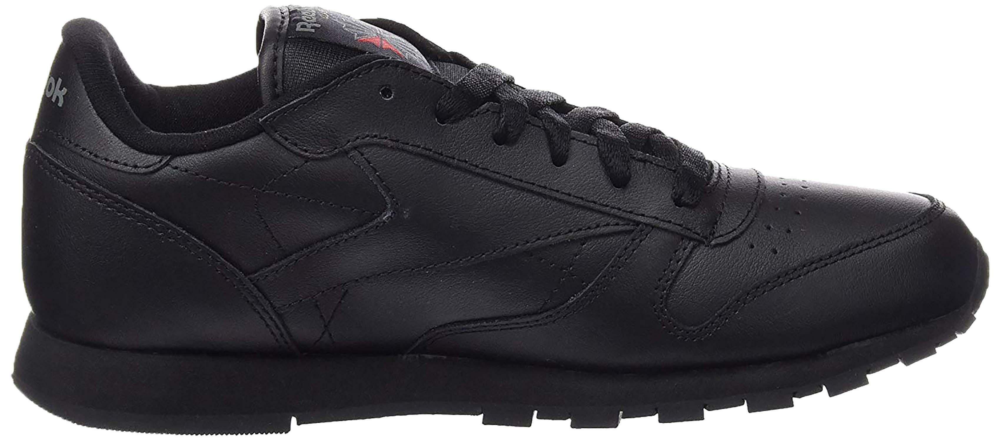 Reebok classic leather scarpe sportive bambino nere 50170