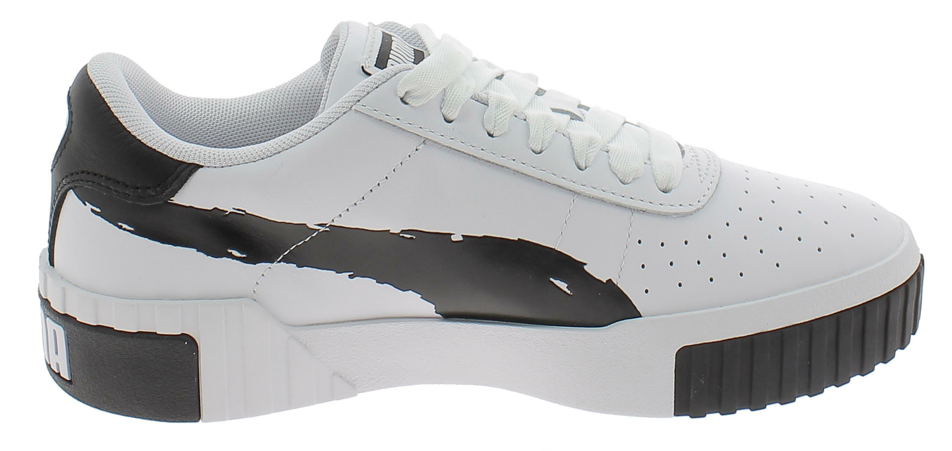 Puma cali brushed scarpe sportive donna bianche 37389601