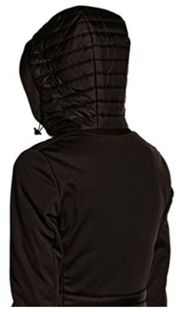 geox geox woman jacket giubbotto piumino donna nero
