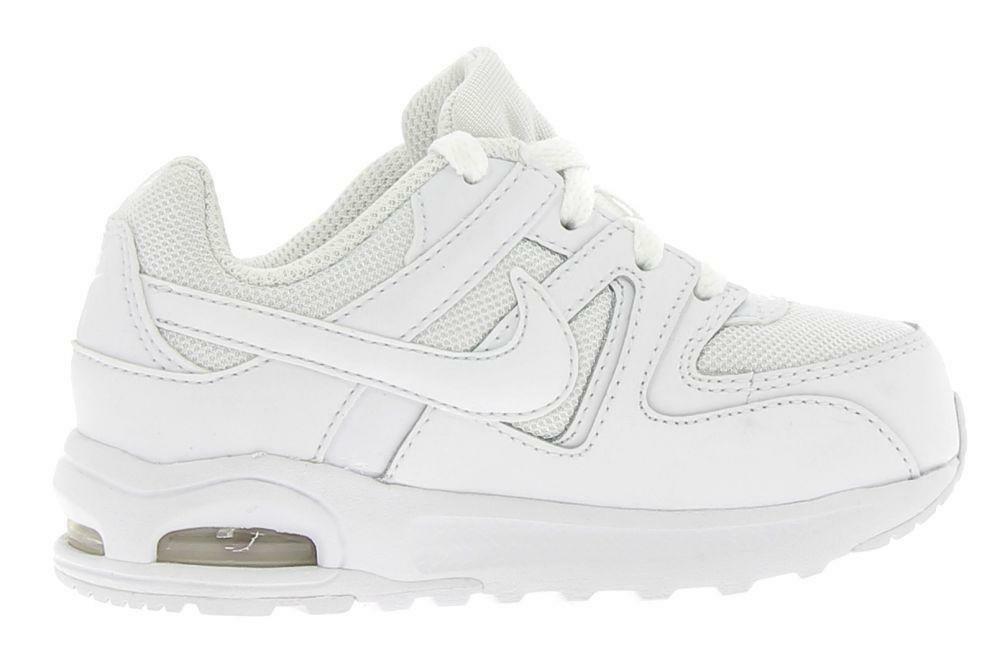 nike nike air max command flex (td) scarpe sportive bambino bianche