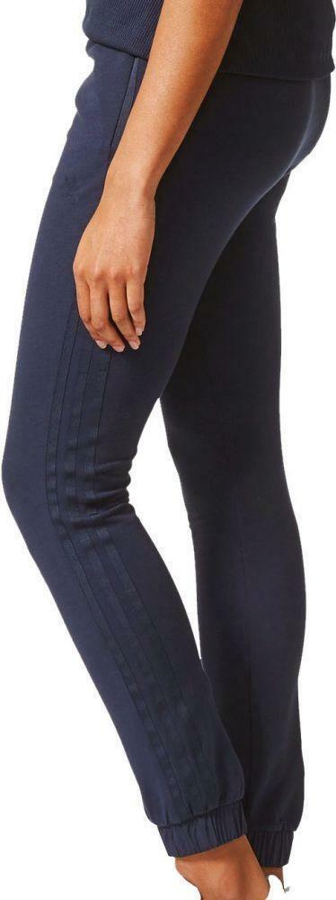adidas adidas slim tp cuf pantalone donna blu