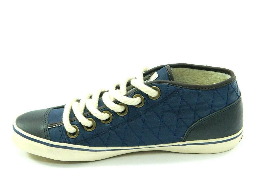 spalding spalding scarpe vintage net quilted nylon blu