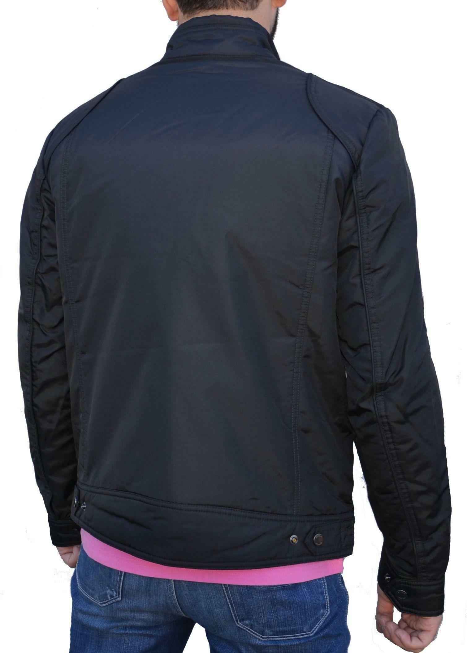 geox geox jacket man giubbotto uomo nero