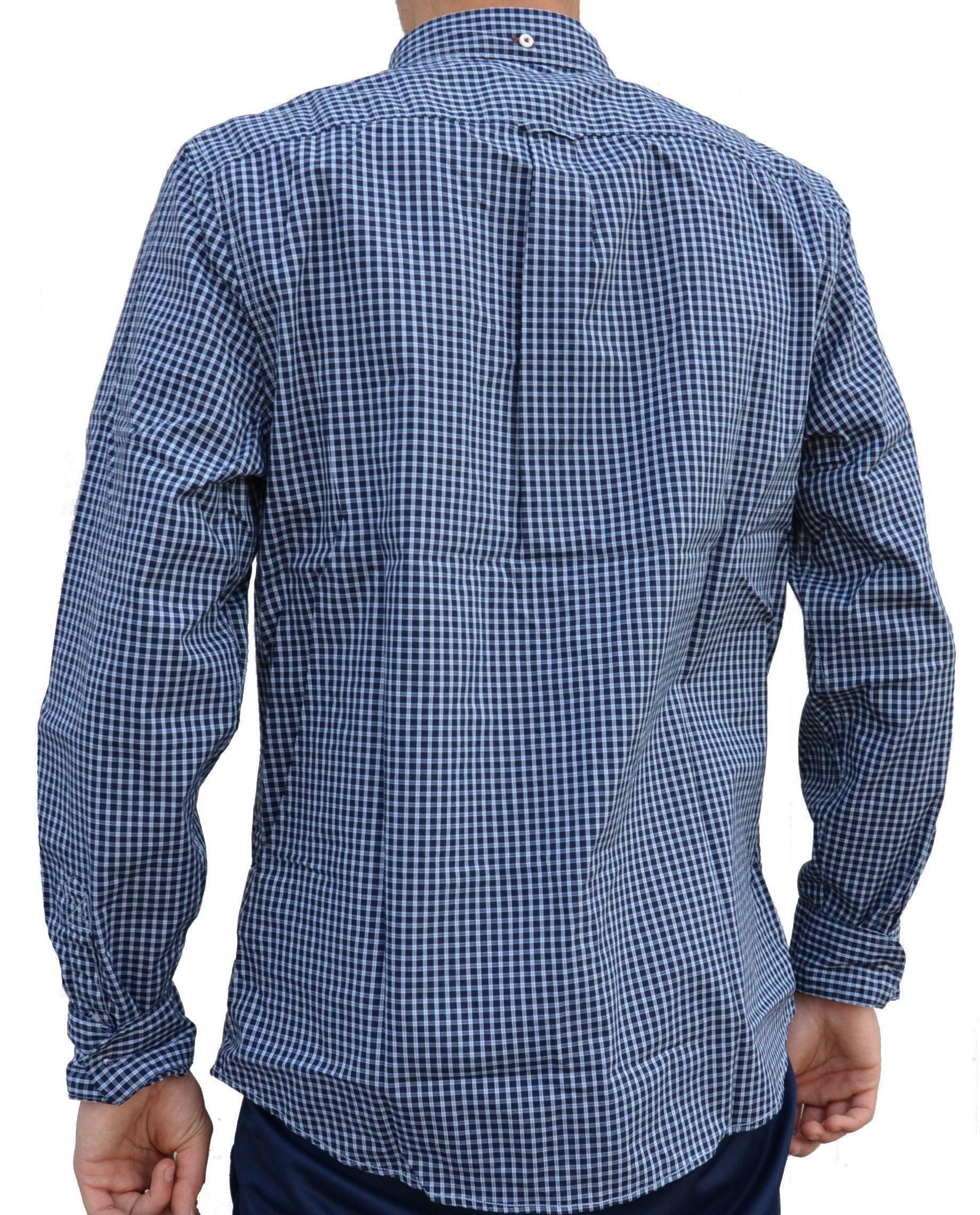 timberland timberland ls snck rv strt camicia uomo a quadri blu