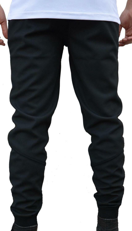 new era new era stealth de jogger pantalone tuta uomo nero