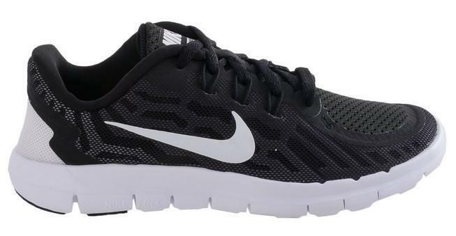 nike nike free 5 (ps) scarpe sportive bambino nere tela 725106