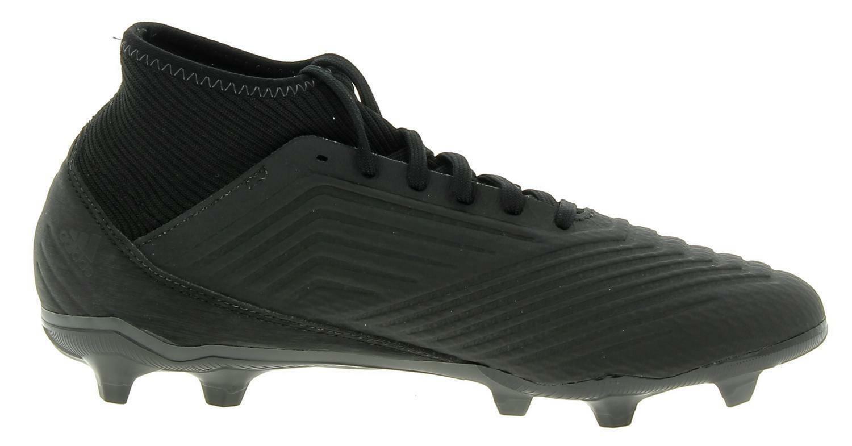 adidas adidas predator 18.3 fg scarpe calcio uomo nere
