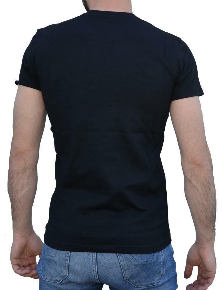 new era new era lxx patch t-shirt uomo nera