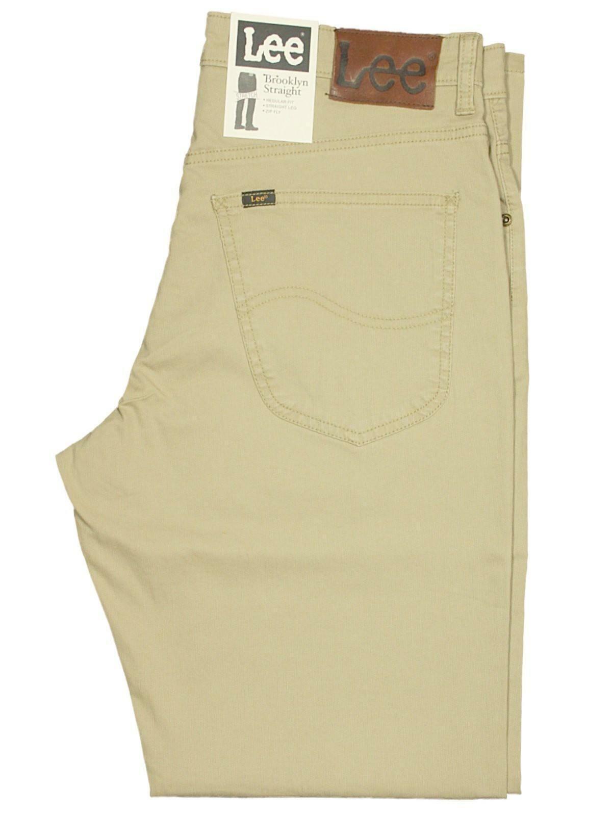 LEE Lee L452GO65 Pantalon pour homme en coton beige L452GO65 Lee a3860c